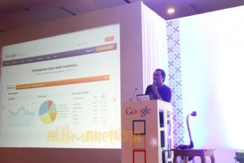 Alit Mahendra at Google DevFest Jakarta 2012